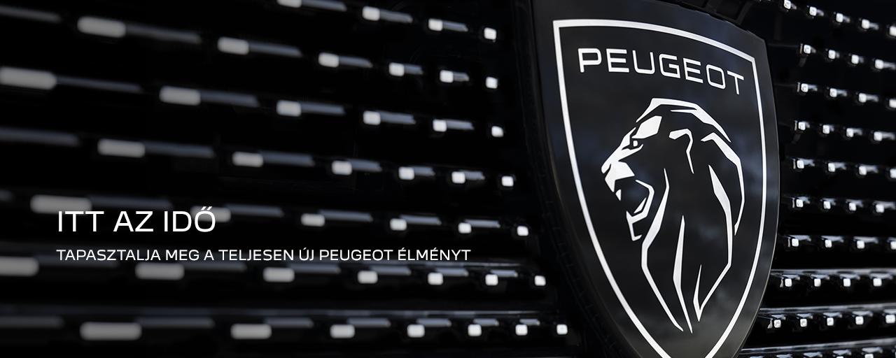 Peugeot - itt az idő