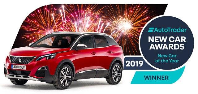Autotrader award 2019 - Peugeot 3008