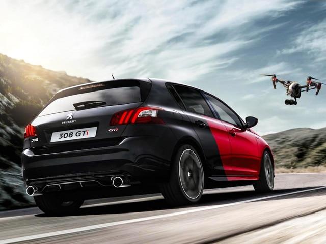 Peugeot drón fesztivál