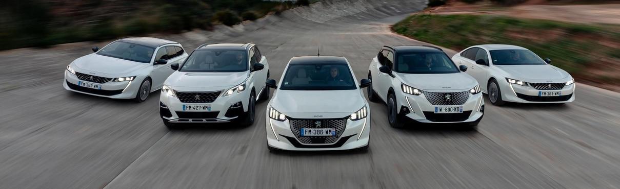 Peugeot hybrid és elektromos modellek