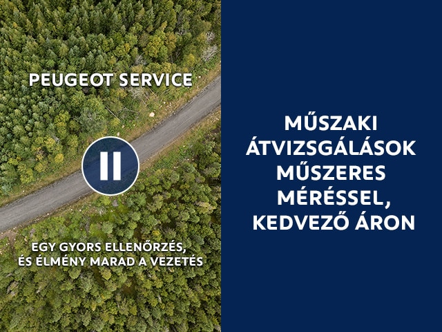 Peugeot kontrollcsomagok