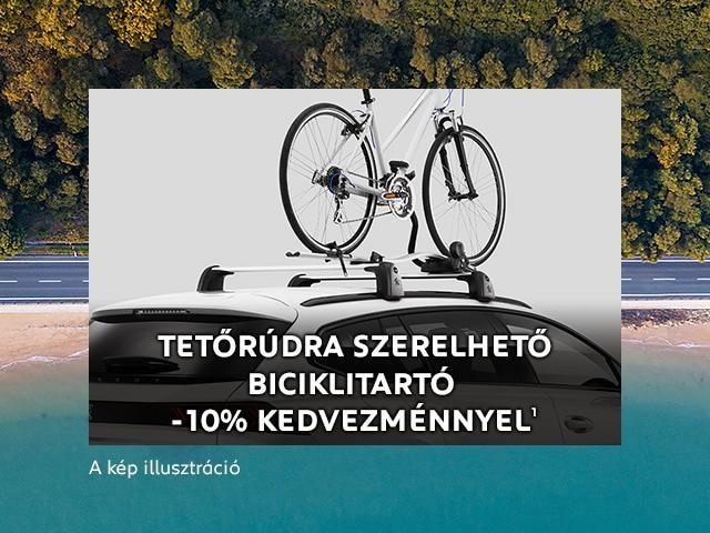Peugeot tetőrúd biciklitartó