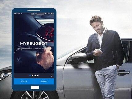 MyPeugeot alkalmazás