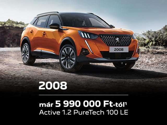 Peugeot 2008 akció
