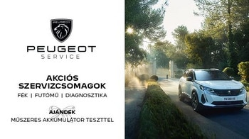Peugeot őszi-téli szervizakció