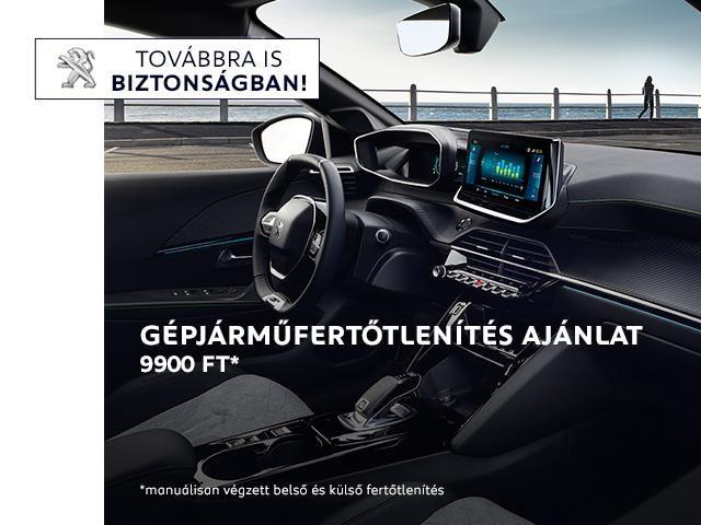Peugeot Fertőtlenítés
