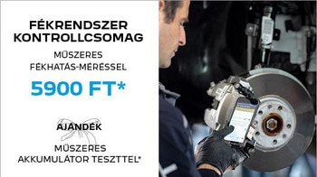 Peugeot őszi-téli szervizakció - fékrendszer