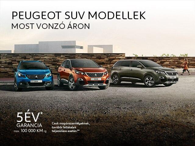 Peugeot SUV akciók 5008