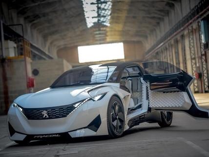Peugeot tanulmányautók