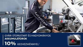 Peugeot téli szerviz akció