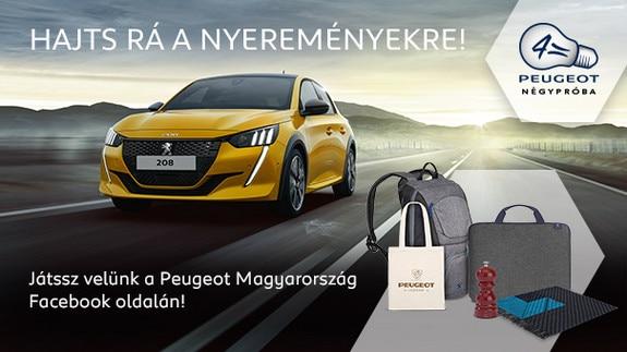 Peugeot Facebook játék