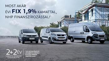 Peugeot haszonjármű akció