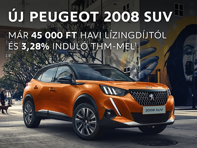 PEUGEOT 2008 SUV Finanszírozási akció