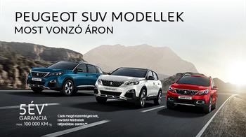 Peugeot SUV akciók