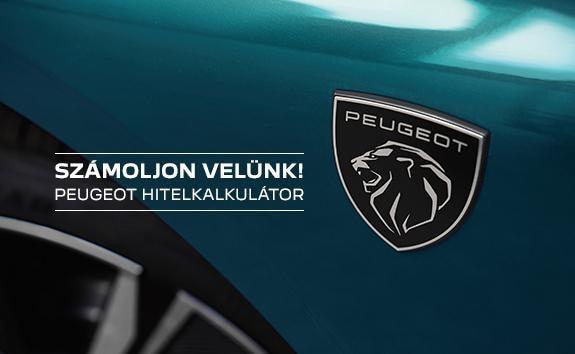 Peugeot hitelkalkulátor