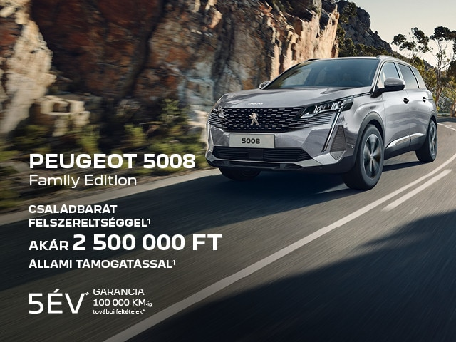 Peugeot 5008 Family Edition