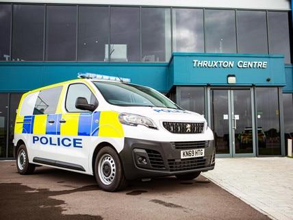 Peugeot - angol rendőrség
