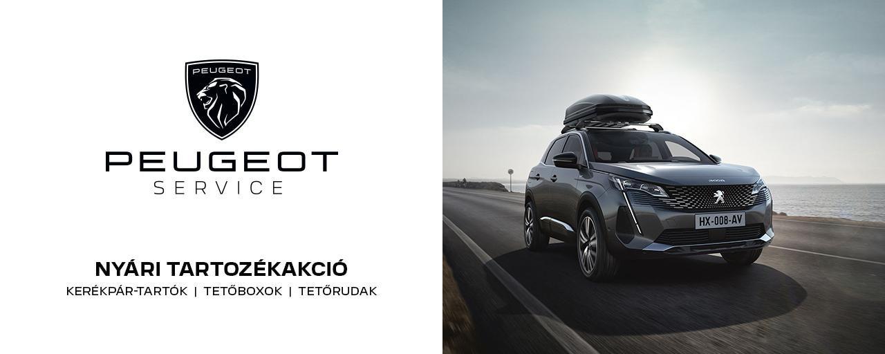 Peugeot nyári tartozék akció