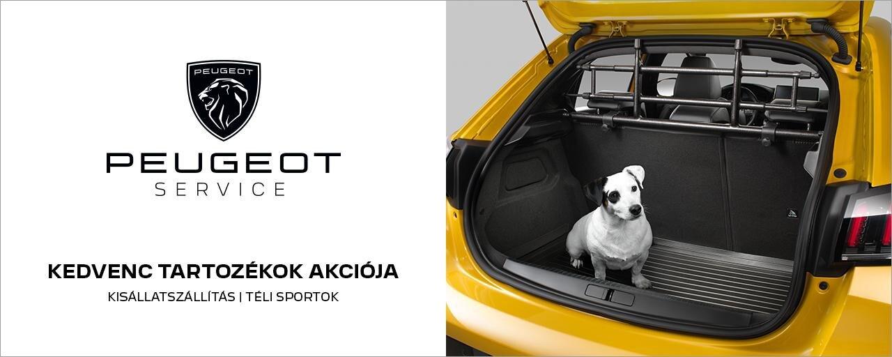 Peugeot őszi-téli tartozékakció