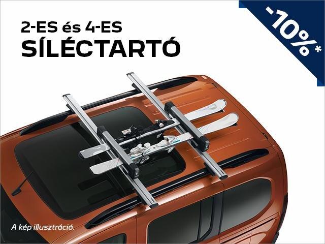 Peugeot síléctartó