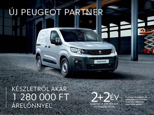 Peugeot Partner készletakció