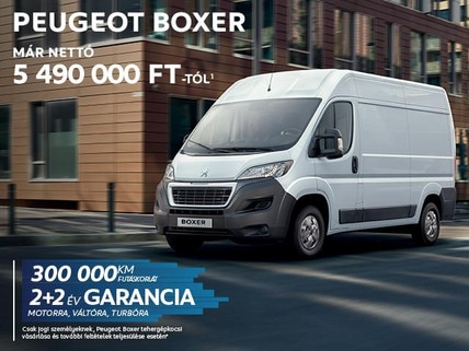 Peugeot Boxer akció