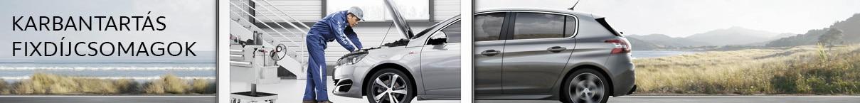 Peugeot fixdíjcsomagok