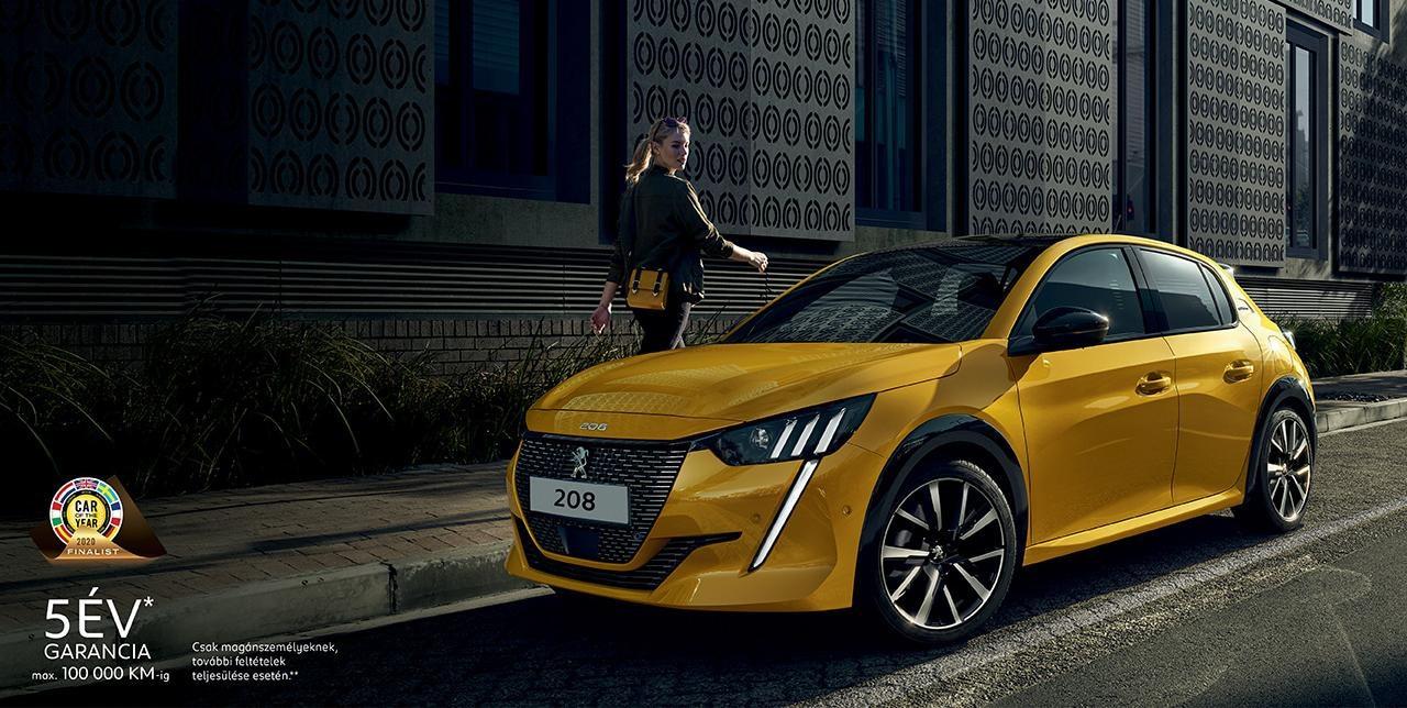 Új Peugeot 208