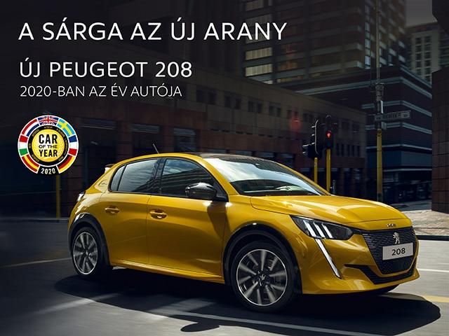 Új Peugeot 208 - Az Év Autója 2020