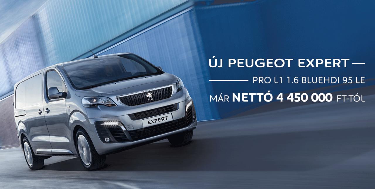 Új Peugeot Expert