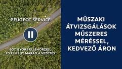 Peugeot Műszaki átvizsgálás