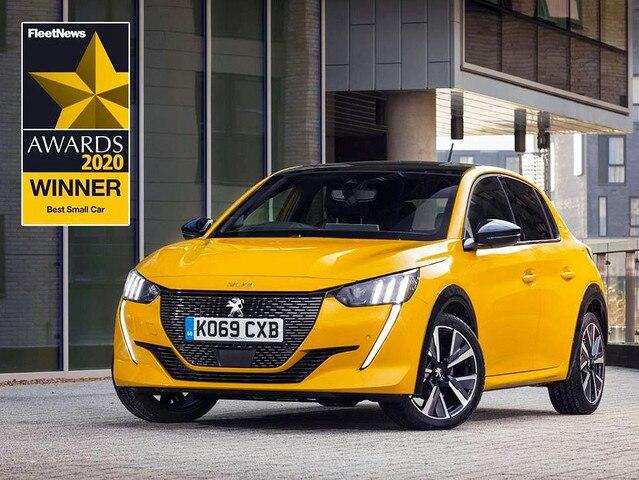 Peugeot Fleetnews díjak