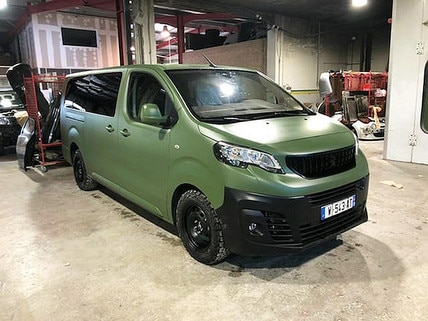 Peugeot e-Expert katonai jármű