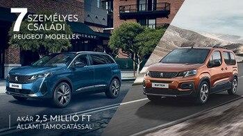 Peugeot 7 személyes akció