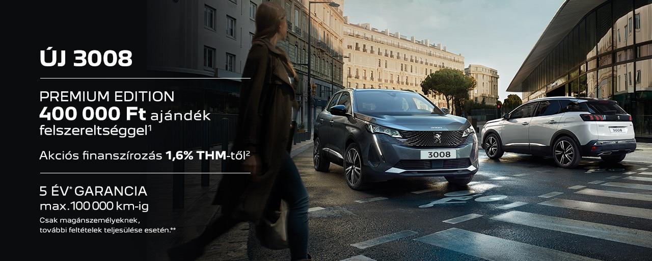 Peugeot 3008 SUV Premium Edition