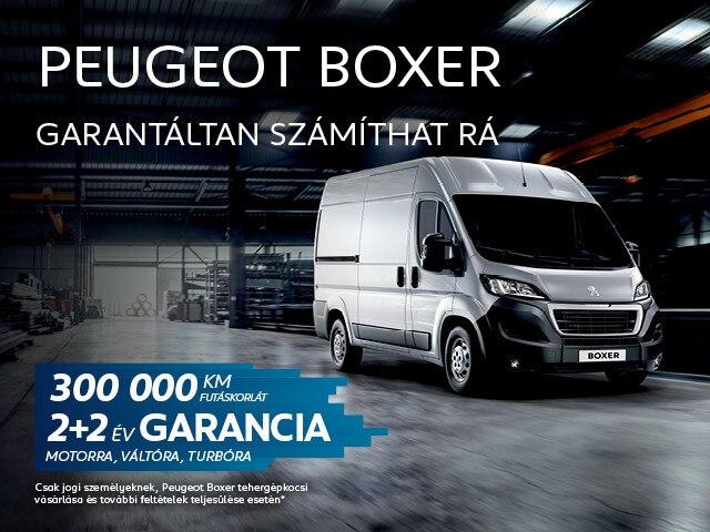 Peugeot Boxer 2+2 év garanciával