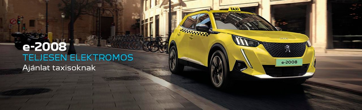 Peugeot 2008 SUV Taxi ajánlat