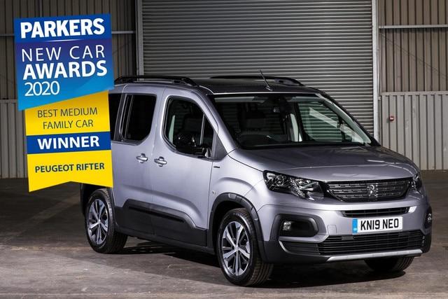3 év autója díj - Peugeot Rifter